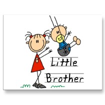 little_brother_with_big_sister_tshirts_postcard-p2